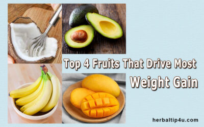 Top 04 Fresh Fruits That Drive Most Weight Gain