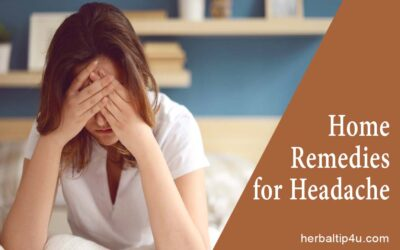 Home Remedies to Get Rid of Headache Quickly