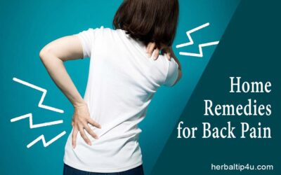 Home Remedies to Relieve Back Pain Quickly