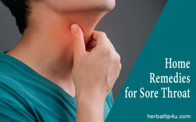 Home Remedies to Get Rid of Sore Throat Naturally